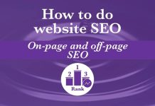 How to Do Website SEO