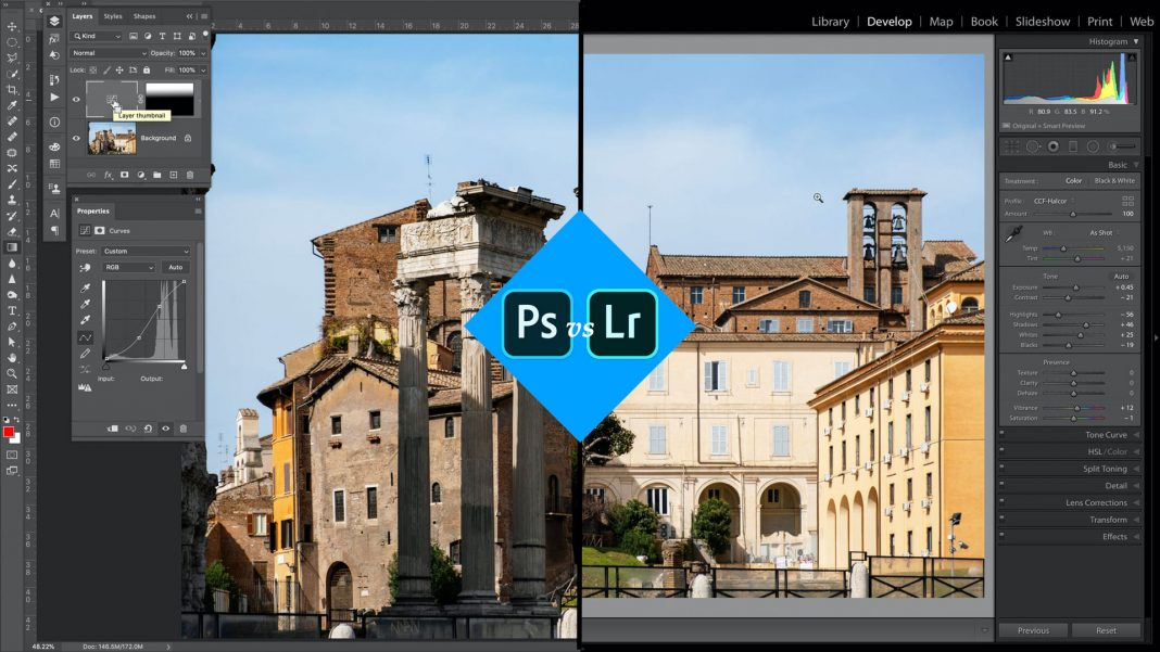 Photoshop Or Lightroom - Which is Better?