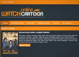 watch cartoon online