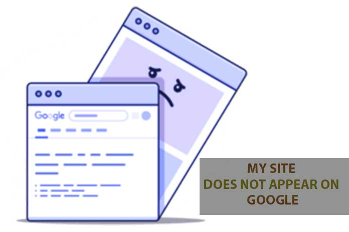 Site Does Not Appear On Google